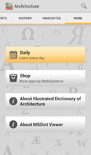 Dictionary of Architecture TR- screenshot thumbnail