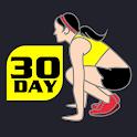 30 Day Burpee Challenge Free icon