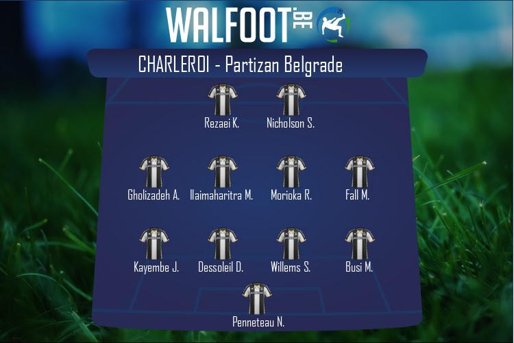 Charleroi (Charleroi - Partizan Belgrade)