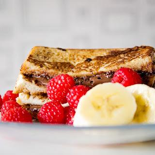 Nutella French Toast with Fresh Fruit Recipe