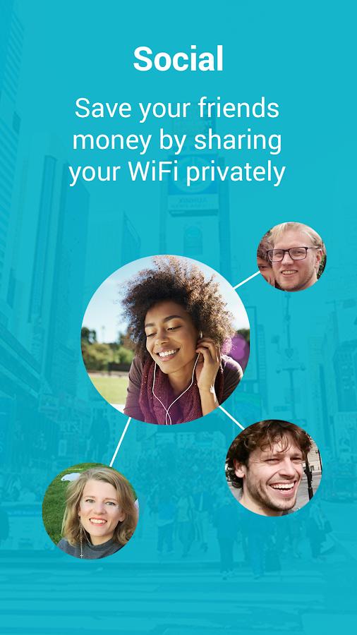 Instabridge - Free WiFi- screenshot
