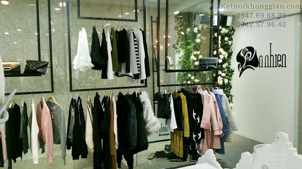 thiết kế nội thất shop thời trang đẹp nhất Hà Nội