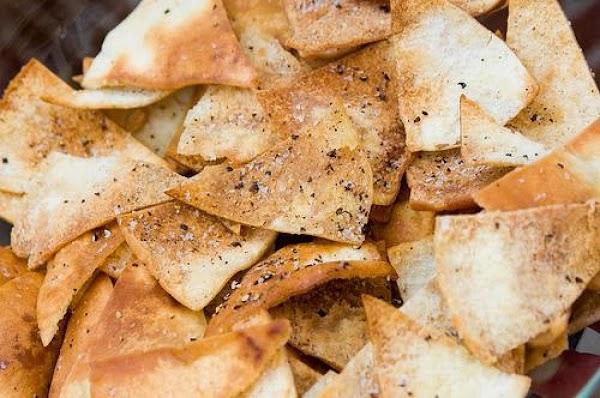 Homemade Pita Chips By Sallye Recipe