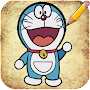 How to Draw Doraemon Characters APK icon