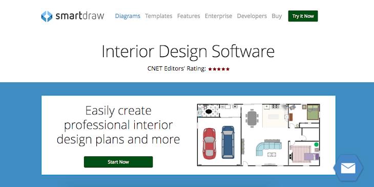 SmartDraw Interior Design Software