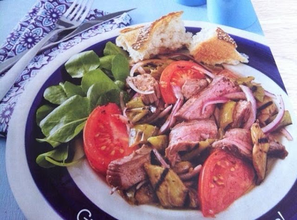 Grilled Steak Salad Recipe