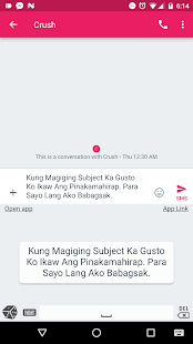 Tagalog Pickuplines Keyboard- screenshot thumbnail