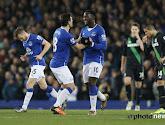 Lukaku scoorde twee keer tegen Stoke City, maar Everton verloor nog