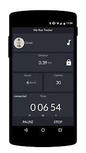 My Run Tracker screenshot