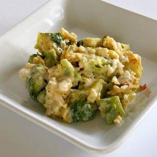 Broccoli and Rice Casserole.