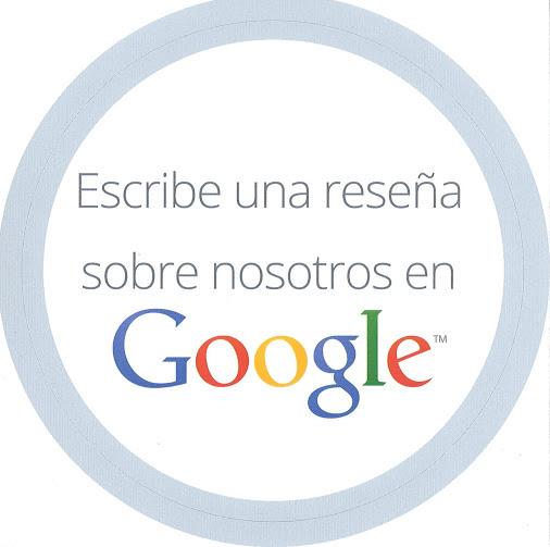 Queremos mejorar por eso le pedimos que escriba una reseña de google sobre nuestra empresa