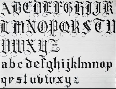 letter design