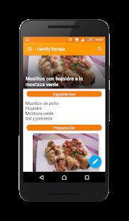 Family Recipe - náhled