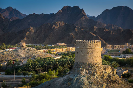Dubai-desert-village.jpg - Join a cruise excursion to visit villages with centuries-old fortifications near Dubai.