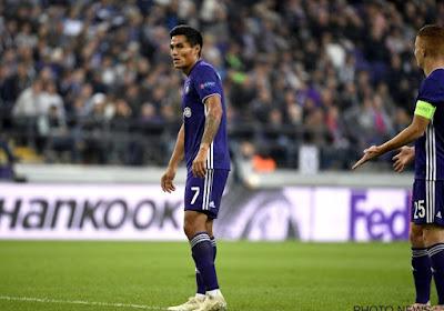 Andy Najar vertrekt na zeven jaar bij Anderlecht