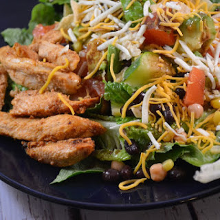 #BloggerCLUE ~ Sophie's Chopped Salad