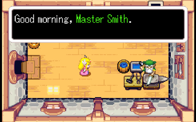 Legend Of Zelda The Minish Cap Game