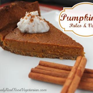 Paleo & Vegan Pumpkin Pie.