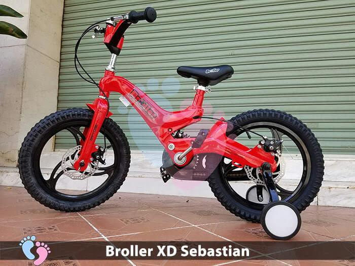 Xe đạp cho bé Broller XD Sebastian 1