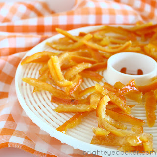DIY Candied Orange Peel