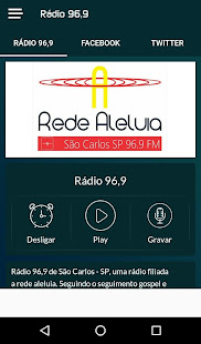 Rádio 96,9 for PC-Windows 7,8,10 and Mac apk screenshot 1