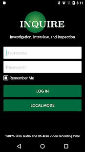 Inquire screenshot