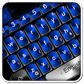 Black Blue Keyboard Theme Android APK Download Free By Love Cute Keyboard