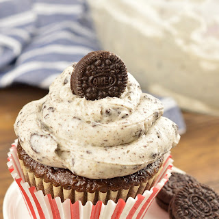 Oreo Cookies and Cream Frosting.