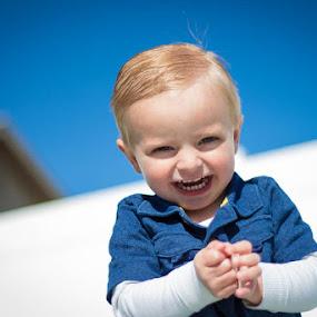 All Grins by Dallas Golden - Babies & Children Children Candids ( grinning, little boy )