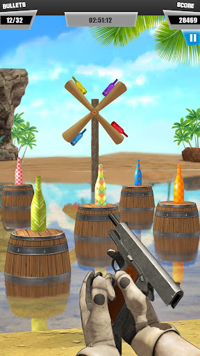 Bottle Shoot 3D Gun Games: Fun Shooting Games Free 1.3 screenshots 15