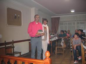 Photo: Torneo de Tenis Vila de Negreira 2009. Jugador más regular 2009