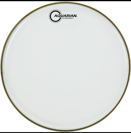 "13"" Aquarian Hi-Frequency Clear"