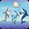 Keep Away, Sharks! icon