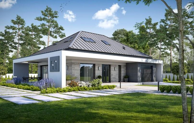 Projekt domu Stylowy D47