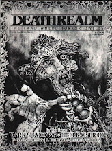 Photo: Deathrealm #16: Spring 1992. Cover art by Mark Rainey