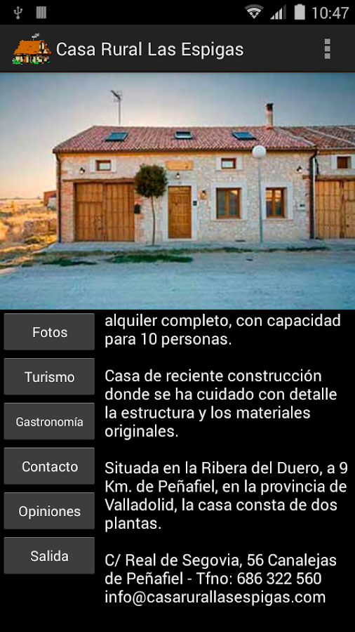 Casa Rural Las Espigas- screenshot