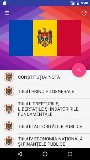 Constituția Republicii Moldova