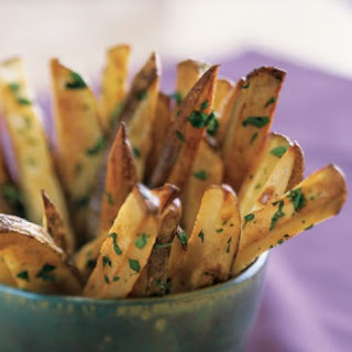 Roasted Russet Potatoes with Parsley and Garlic Recipe