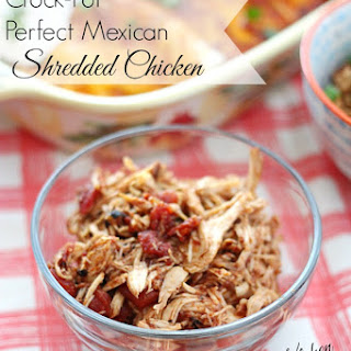 Crock-Pot Perfect Mexican Shredded Chicken.