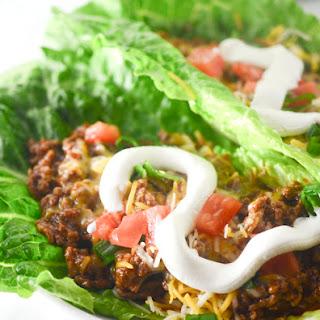 Low Carb Enchilada Lettuce Wraps