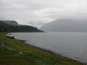 Photo: Looking across Chilkoot Inlet from Haines.