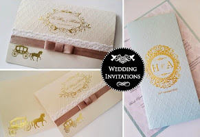 fairy tale carriage theme invite