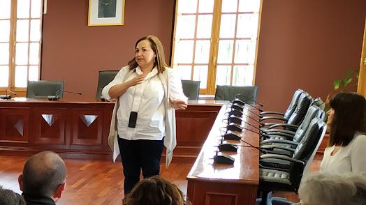 La concejal de Hacienda del Ayuntamiento de Huércal de Almería, Puri Matas.