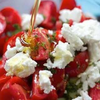 Simple Cherry Tomato Salad Recipe