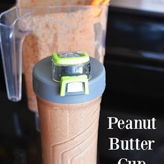 Peanut Butter Cup Protein Shake.