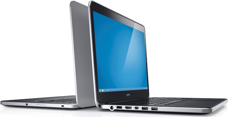 Photo: Dell XPS 14 laptop back to back.More details here: http://dell.to/Oj6LIW