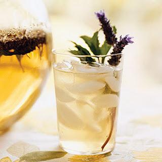 Chamomile Lavender Mint Iced Tea.
