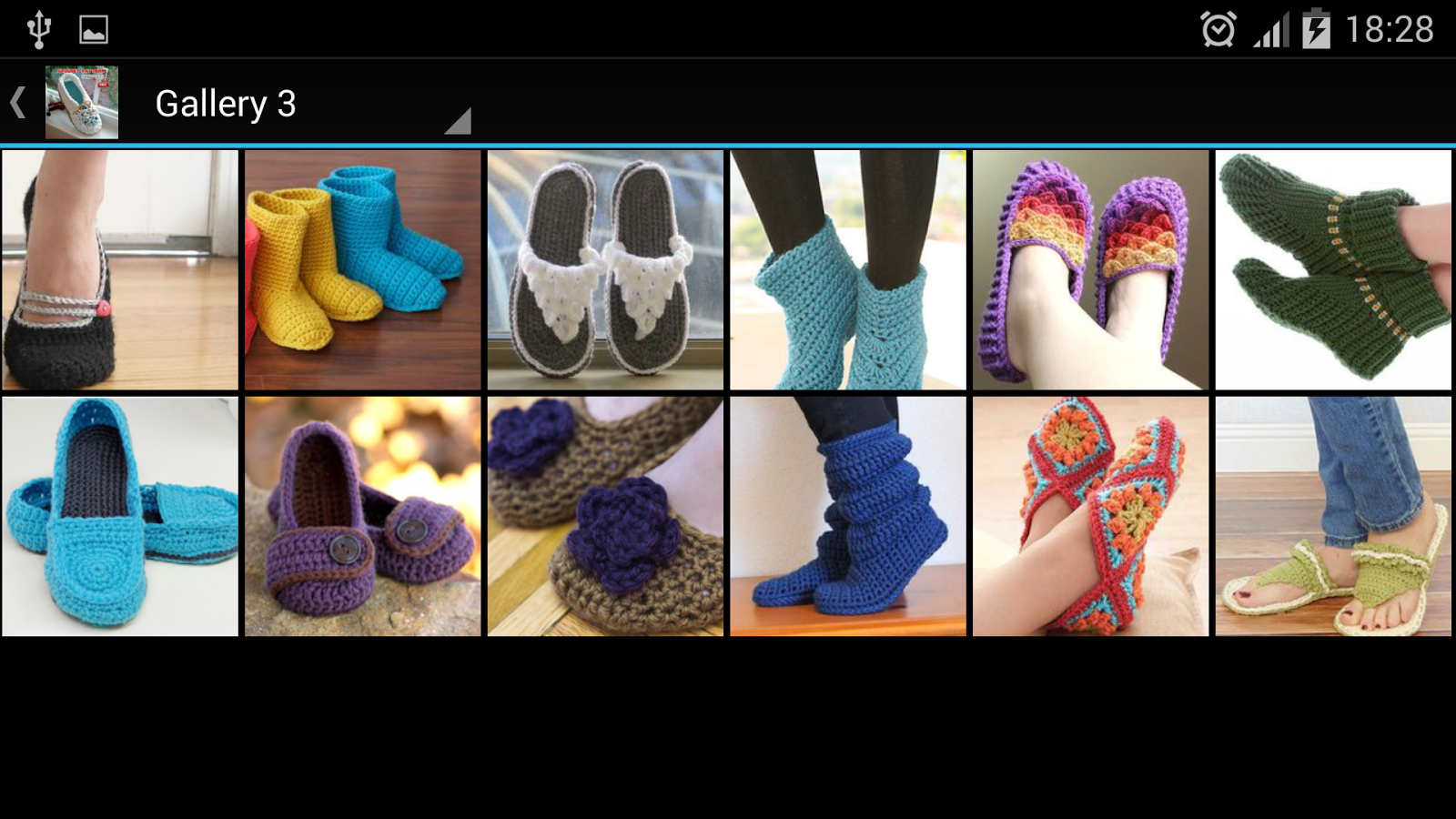 Crochet Pattern Slippers - Android Apps on Google Play