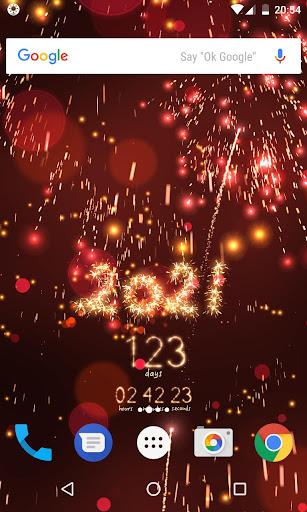 New Year countdown Apk 2