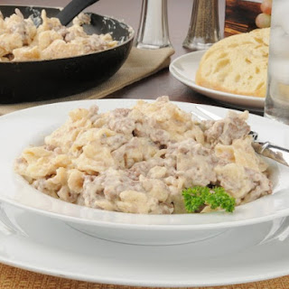 Quick One-Skillet Beef Stroganoff With Noodles.